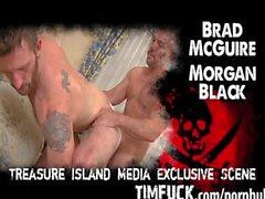 Nagels MgGuire Top Bolzen Rassen Morgan Schwarz