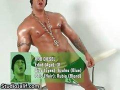 Muscled Homosexuell Stück Rob Diesel Ruckeln INHABER Teil2