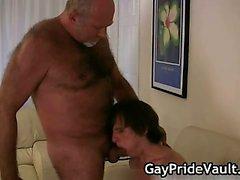 Geilen Homosexuell tragen Blasen und ficken Teil5