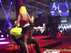 lapdance scandal show on stage