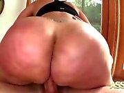 Fett Latina Fetischer Ass Destinys Analsex av Pounding