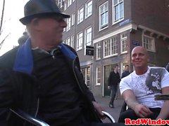 Real Busty голландская проститутка doggystyled камеры