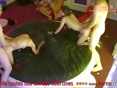 Camera Espion ванная вечеринка Privee ! Франции spycam95