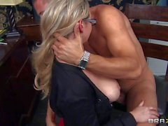 Horny professor bangs Big tit teacher Abbey Brooks