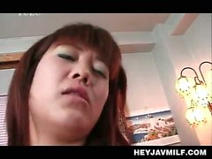 Jap passionate sex with tempting MILF riding hard shaft