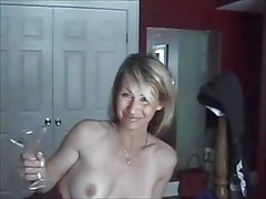 Amateur wife anal and pussy creampie