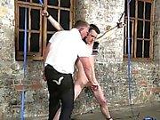 Homosexuell film von In sein sanftes Mutter zupfte und sein Knopf masturb