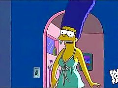 Simpsons Cartoon -Sex: Homers Magda verdammten
