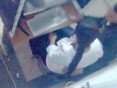 Marokkos Versteckte Kamera Voyeure . Junge Paare in der Cybercafe