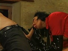 extremely hot dominatrix Sophia Gently loves being dominated