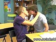 Jeremy ve Patrick ilk kez Fem emo gey twink tüpleri