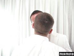 MormonBoyz - mórmons têm Steamy Sex In Secret Room