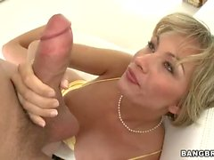 Beautiful MILF Holly Marie takes big cock