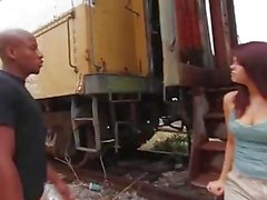 Pervs at the abandoned train station