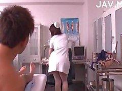 Titty Jap nurse fucked