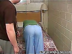 Housewife Spanked and Fucked