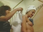 Two Diferent Mistress-Maid Scenes.(Portuguese Women)