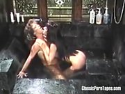 Hungry Lesbians Bath Time Fuck