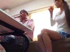 Japanische Teenager-Voyeur-Kamera