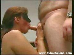 Italienischen Couple Figa Amatoriale
