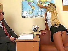 Begeistern zwei geilen Lehrer