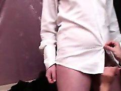French Lesbian Darla anal fucked