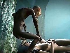 Bébé cartoon en 3D Libertine fucked dans le bois de Gollum