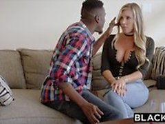 BLACKED Samantha Saint Cheats mit BBC