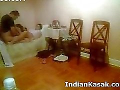 Indische Punjab University Paare ficken harten in bedroom