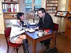 German teacher fucking Romanian schoolgirl