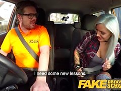 Fake Driving School Busty goth eleven i anal