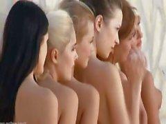 Seven unbelievably hot women stripping