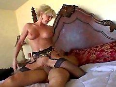 Sexy Blonde Cougar Cara Lott Drilling