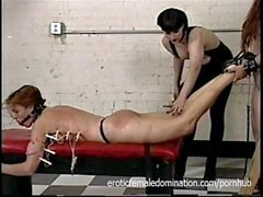 Both Slaves Get Punished Together By Their Mistress