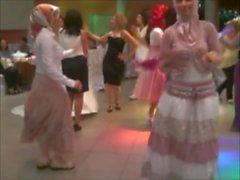 Turco, hijap, dança