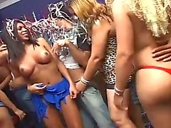 Horny shemale sex party gone wild