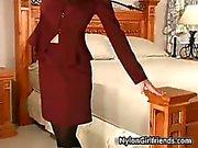 Centesimo Fiamma sexy della in lei vestito di affari part6
