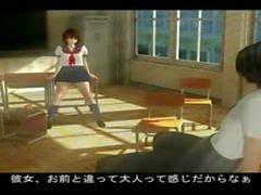 Anime Hentai Schwerpunkt 3D Schulmädchen Geschlechts porn Spritzen