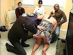 Französisch Dicke Frauen Christine gangbanged