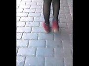 Garotas turcos com meias de Sensual coletânea