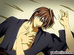 Gays de Hentai rubia tirando a su novio