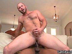 Gay oso melenudo toma grandes parte6 gay negro