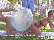 LUBED - Jada Stevens and Crystal Rae fucked