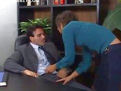 Azgın Sekreter Ass FucksBoss