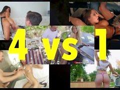 PMV de 2016 - YourPussyIsMine - Cinco vagabundas impertinentes