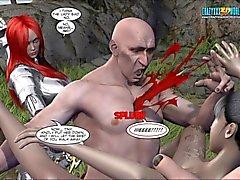 3D Comic : Blade neidot .