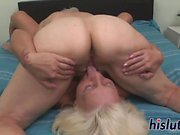 Kinky lesbian action with two saucy GILFs