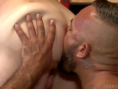 Daddy Alessio Romero obtient Cock in Employees Ass