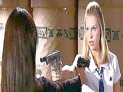 Jordana Brewster ardentemente lésbica de beijo a Sara Fomentar