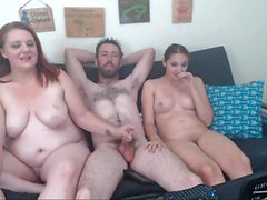 Big boobs slutty officers threesome